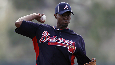 Braves prospect Julio Teheran was the IL Pitcher of the Year last season.